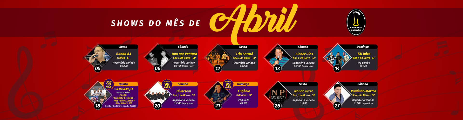 Shows Abril